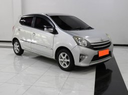 Toyota Agya 1.0 G AT 2015 Silver