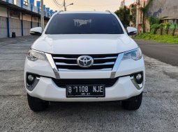 Toyota Fortuner 2.4 G AT 2016 White On Brown Terawat Pjk Pjg TDP 85Jt