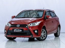 TOYOTA YARIS G MT RED 2016