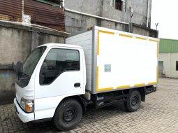 95000KM murah CDE Isuzu Elf engkel NHR55 box alumunium 2013 NHR 55 bok