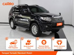 Toyota Fortuner 2.7 G Luxury AT 2012 Hitam