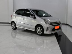 Toyota Agya 1.0 G TRD Sportivo AT 2015 Silver