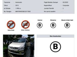 Mobil Toyota Kijang Innova 2012 G dijual, DKI Jakarta