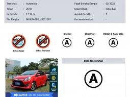 Toyota Agya 2018 Banten dijual dengan harga termurah