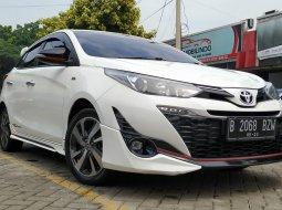 Toyota Yaris 1.5 S TRD 2018 Putih KM 30rbuan mulus