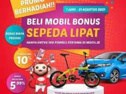 Jual cepat Honda Mobilio E 2015 di Jawa Barat
