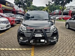 LOW KM !! TOYOTA RUSH S TRD ULTIMO AT MATIC 2017 HITAM