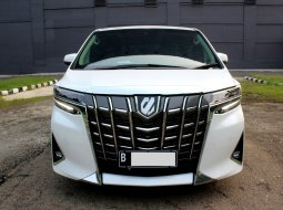 Toyota Alphard 2.5 G ATPM A/T PUTIH 2020 PEMAKAIAN 2021