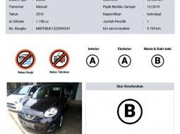 Mobil Nissan March 2016 dijual, Banten