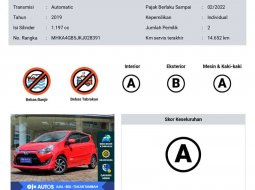 Toyota Agya 2019 DKI Jakarta dijual dengan harga termurah