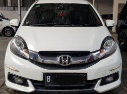 Honda Mobilio E A/T ( Matic ) 2014 Putih Km 40rban Tangan 1 Good Condition