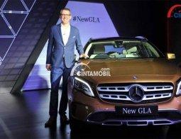 Review Dan Spesifikasi Mercedes-Benz GLA 200 AMG Line 2017 : Citra SUV Yang Elegan