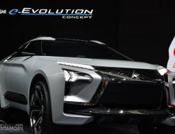 Preview Mitsubishi E-Evolution Concept 2017: Definisi Baru SUV Futuristik Bertenaga Elektrik