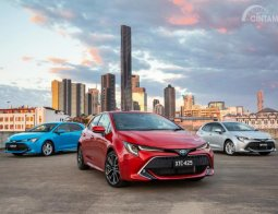 Preview Toyota Corolla Hatchback 2018