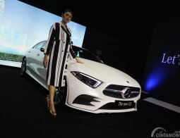Review Mercedes-Benz CLS 350 AMG Line 2018