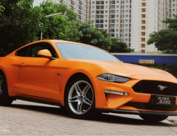 Review Ford Mustang GT V8 2018