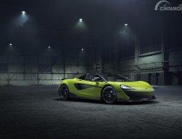 Review McLaren 600LT Spider 2019