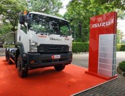 Review New Isuzu Giga Tractor Head GXZ 60 K ABS 2019