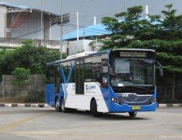 Review Volvo Bus B11R 2011 Transjakarta
