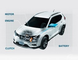 Review Nissan X-Trail Hybrid 2015, SUV Hybrid Pertama Di Kelasnya
