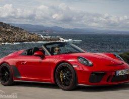Review Porsche 911 Speedster 2019