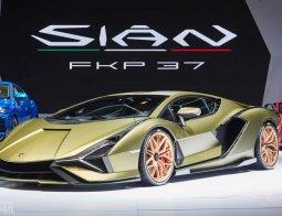 Review Lamborghini Sian FKP 37 2019: Berteknologi Hibrida, Lambo Tercepat Sepanjang Masa