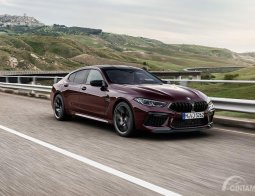Review BMW M8 Gran Coupé 2019: Mewah, Tampan dan Kencang