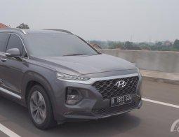 Review Hyundai Santa Fe XG CRDi 2019: Varian Menengah yang Tak Kalah Gagah