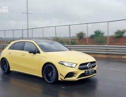 Review Mercedes-AMG A 35 4MATIC 2020: Hatchback Kencang Untuk Harian