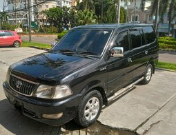 Dijual Mobil Toyota Kijang LGX 2003 Hitam, Tangerang