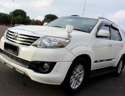 Dijual cepat mobil Toyota Fortuner G TRD 2014 Putih, DKI Jakarta