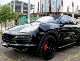 Jual Mobil Bekas Porsche Cayenne Coupé 2012 Hitam di DKI Jakarta