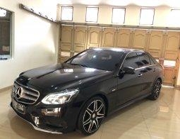 Mercedes Benz E400 AMG Line SPORT 2016 Low KM + Garansi,MURAH