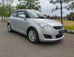 Jual Suzuki Swift GX A/T 2013 Silver di Jawa Barat