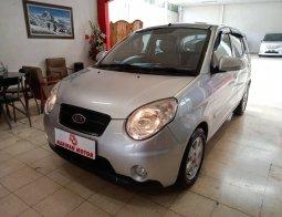 Kia New PIcanto SE AT 2010 Silver Km Rendah Antik Murah