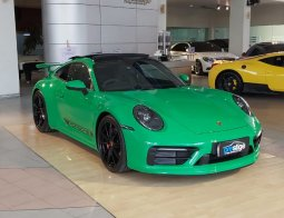 Brand New Porsche 911 Carrera S 2020 Python Green on Black