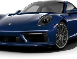Brand New 911 Carrera 2020 Gentian Blue Metallic
