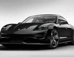 Brand New 2021 Porsche Taycan 4S Jet Black Metallic on Black
