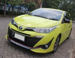 Toyota Yaris TRD Sportivo 2018 Kuning - kilometer baru 1.500