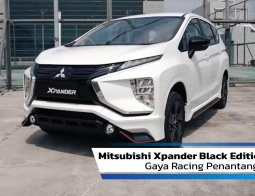 Review Mitsubishi Xpander Black Edition 2020: Gaya Racing Penantang Avanza