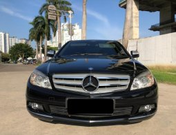 Mercedes-Benz C-Class C200 2008 Hitam