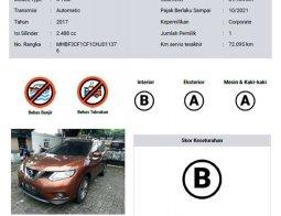 Mobil Nissan X-Trail 2017 2.5 CVT terbaik di DKI Jakarta