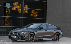 Review Mercedes-AMG GT 4 Door Coupe 2019