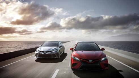 Preview Toyota Camry X60 2018