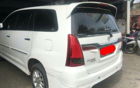 Toyota Kijang Innova 2 0 V Luxury At Bensin Putih 2014 524023