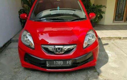 Honda Brio Ckd Matic 2014 Merah 1225480