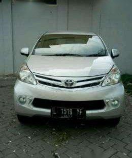 Toyota Avanza Th2014 G 1500cc Tgn1 L Surabaya Silver Low Kilometer