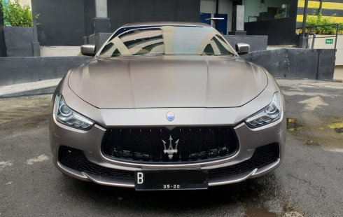Jual Mobil Maserati Ghibli Itali 3.0 V6 2014