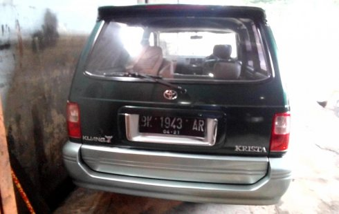 Dijual mobil bekas Toyota Kijang Krista 1.8L 1999, Sumatra Utara
