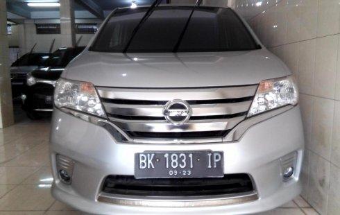 Mobil Nissan Serena Highway Star 2013 dijual, Sumatra Utara
